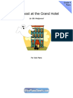 The Ghost at the Grand Hotel Piano Sheet Music