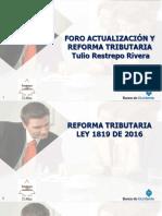 Presentacion Foros Tributarios 2017