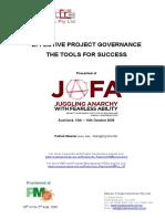P034 Governance Tools