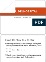 Kalkulus I 14 Dalil de L_Hospital