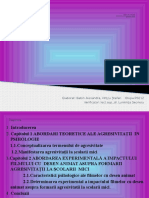 ppt agresivitatea