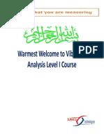 256366251 Vibration Analysis Level