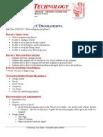applications robotics design brief