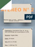 Ateneo-clase de hospital Quemado