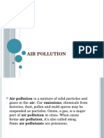 Air Pollution by Grade 6
