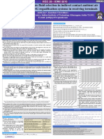 Study of Intermediate fluid selection in indirect contact ambient air