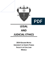 golden notes legal ethics