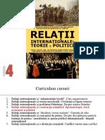 Curs 4 - Relatii Internationale - Teorie Si Politici