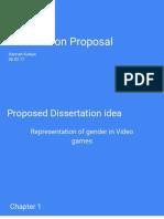 Dissertation Proposal updated
