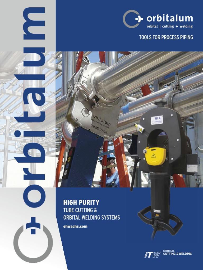 Orbitalum High Purity Pipe & Tube Cutting Tools and Orbital Welding ...