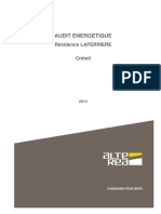 2013 - Audit Energetique