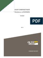 2013 - Audit Energetique