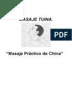 Masaje Completo Tuina.