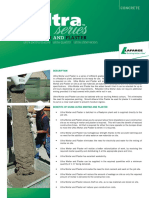 Ultra Mortar Datasheet 2012