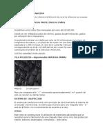 Estructura Financiera - Plan de Negocios