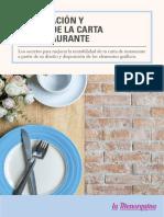 eBook Elaboracion y Diseo Carta de Restaurante