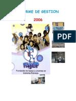 INFORME  GENERAL 2006