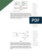 Bipolar Power Supplies