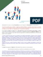 Definiciones de Sobrestante - Mineria (24.01.2017)