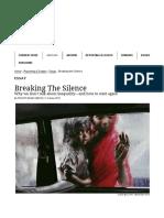 Breaking the Silence - The Caravan