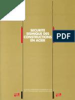 Securite Sismique Des Constructions en Acier