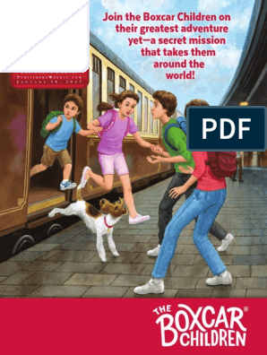 Children's Spring Announcements | The Boxcar Children