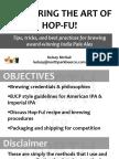 2015 AHA Mastering the Art of Hop-Fu