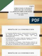 Presentacion Central Hidroelectrica Huanza-Alvaro Mejia