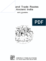 1977 Trade and Trade Routes in Ancient India by Chandra s