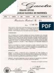 Nuevo Reglamento de Otorgamiento Del Grado Académico de Bachiller y Titulo