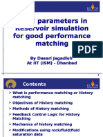 Basic Parameters in Reservoir Simulation for Good Performance Matching