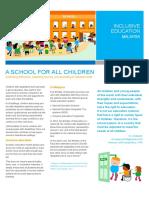 UNICEF Inclusive Education Malaysia