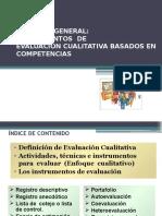Intrumentos de Evaluacion Cualitativas Basados en Competencias