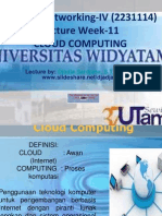 Widyatama.lecture.applied Networking.iv Week 11 Cloud.computing