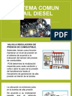 Sistema Comun Rail Diesel Gestion Electrónica - II