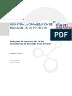 Guia Organizacion Doc de Proyecto