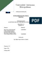 Pratica1 REPORTE(Fundamentos de Logica Digital)