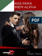 10 Regras Para Ser Um Homem Alpha 2.0