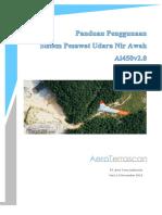 Petunjuk Penggunaan Sistem Pesawat Udara Nir Awak Ai 450v2.0