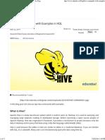hive sql