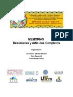 Memoria de Ponencias - Territorios, Culturas y Buen Vivir