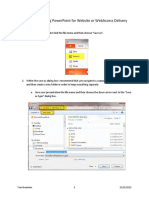 Saving PowerPoint for Website or Webaccess