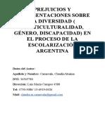 ACTIVIDAD 2 PAPER FINAL CARNEVALE CLAUDIA MARINA DNI 34565780_ Prejuicios y Representaciones Sobre La Diversidad Multiculturalidad2.Docx