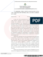 Fallo Furnari s/designaciones Poder judicial