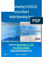 Widyatama.lecture.applied Networking.iv Week04 Mobile Networking