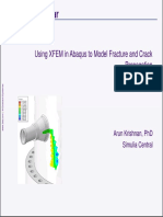Using XFEM in Abaqus to Model Fracture and Crack Propagation