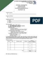 Calendario de Evaluaciones Parciales GyT