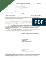 In the Matter of E-rate Modernization Progress Report (via FCC)