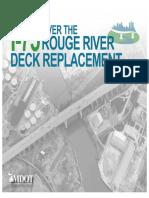 Rouge River/I-75 bridge project