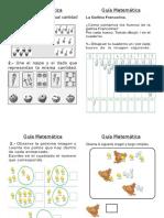 Guía Matemática 0 -9